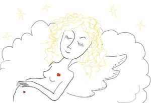 Беременный ангел